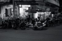 Glowing trishaw, Penang, Malaysia