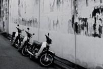 Motorbikes, Penang, Malaysia