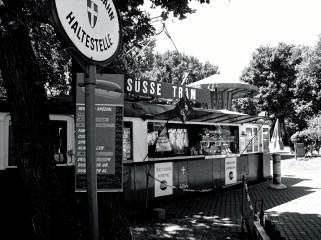 Old tram, Böhmischer Prater, Vienna
