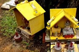 Small yellow altars
