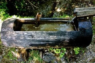 Small wooden standpipe, Austria