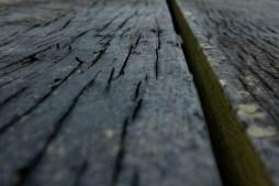 Weather-beaten planks