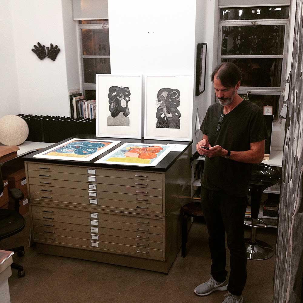 Manneken Press, Richard Hull, Western Exhibitions, print signing