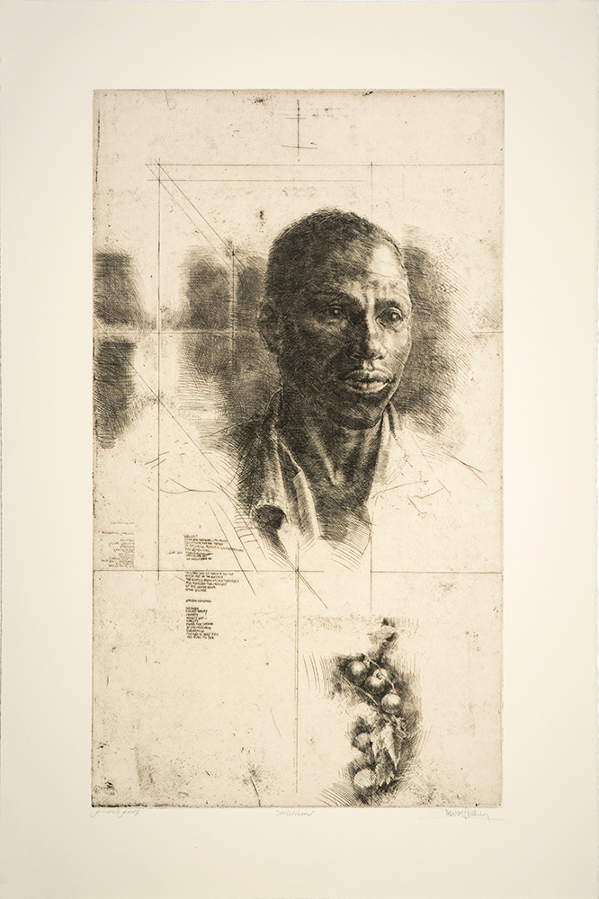 "Trevor Southey: ""William"", 1988. Etching"