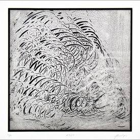 """""""#527"""", 1998. Photogravure, edition of 10.  Image: 14 ½"""" x 14 ½"""", paper: 18 ¾"""" x 17 ¼""""."""