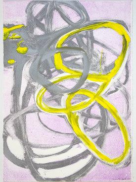 """""""Premise VI"""", 2017. Monotype, 29 1/2"""" x 21""""."""