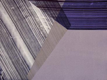 """Flap 4"", 2013. Monoprint. Image/paper size: 22 ½"" x 29 ½""."