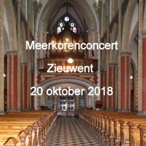 2018 Korenconcert Zieuwent