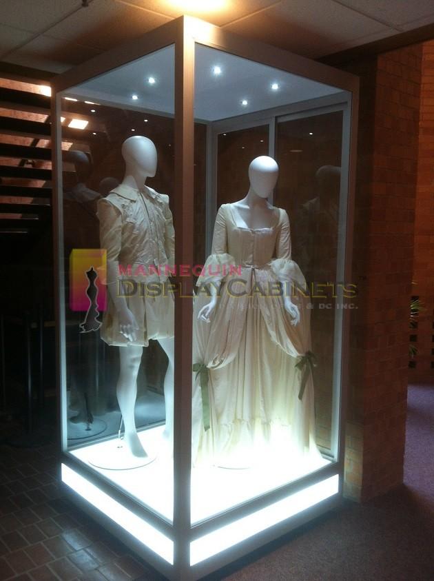 Mannequin Display Cabinets  WestField Properties USA