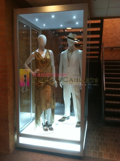 Mannequin Display Cabinets  WestField Properties USA