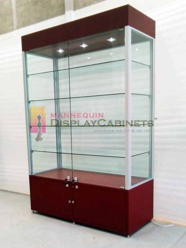 Free Standing Display Cabinets Mannequin
