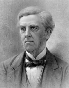 Oliver Wendell Holmes, Sr. (1809 - 1894) American Poet and Author