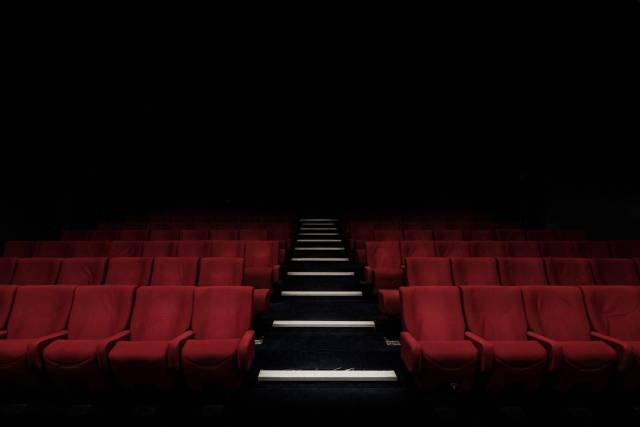 Image of empty seats in a theatre