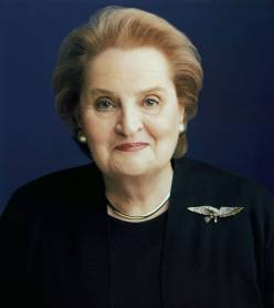 Madeleine Albright: It took me time to develop a voice and I am not going to be silent