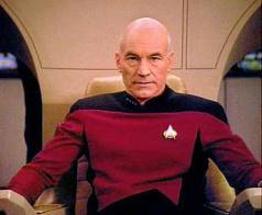 Image of Patrick Stewart as Jean-Luc Picard