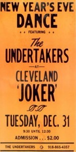 Original concert poster for The Joker in the late 60's