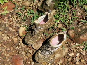 put my new hiking boots to the test