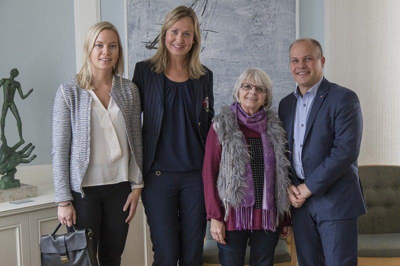 Elise Lindqvist mötte ministern igen