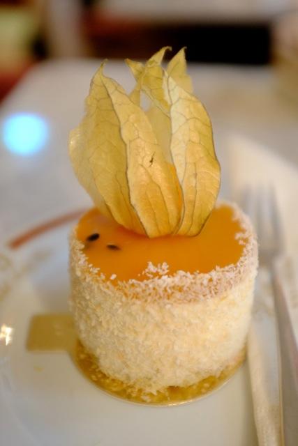 Joghurt-Frucht-Törtchen glutenfrei Hotel Sacher