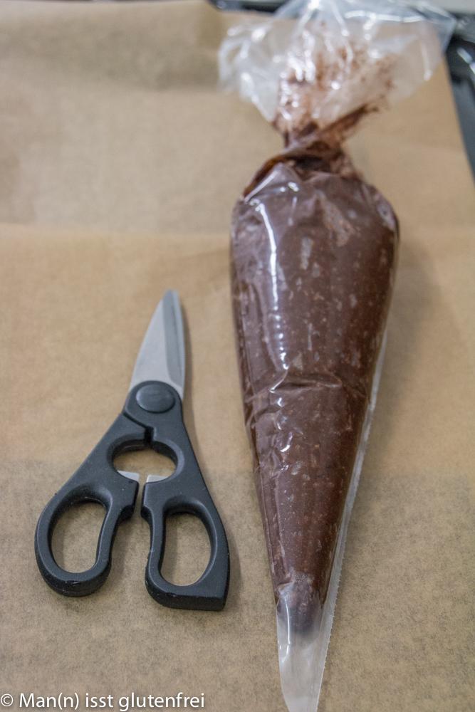 Walnuss Lebkuchen-Spritzbeutel