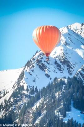 Tannheimer Tal Ballonfahrt