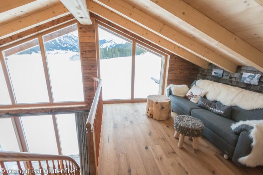 Braitos Lodge Sitzecke oben