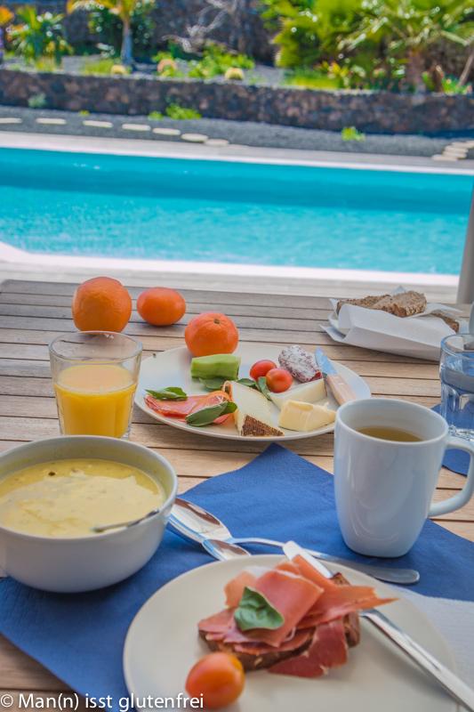 Fuerteventura Villa Frühstück
