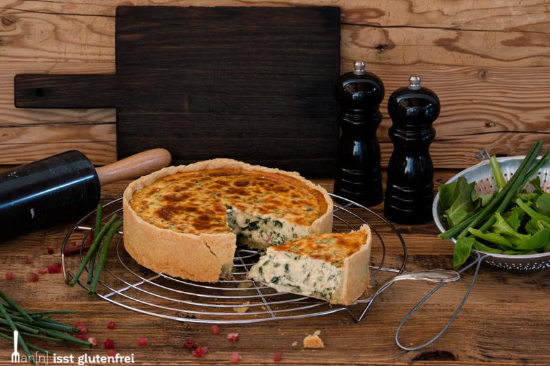 Quiche Lorraine Glutenfrei Und Laktosefrei Mann Isst Glutenfrei