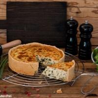 Quiche Lorraine - glutenfrei und laktosefrei