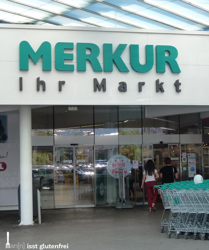 Supermarkt Merkur glutenfrei