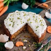 Karottenkuchen - glutenfrei und laktosefrei