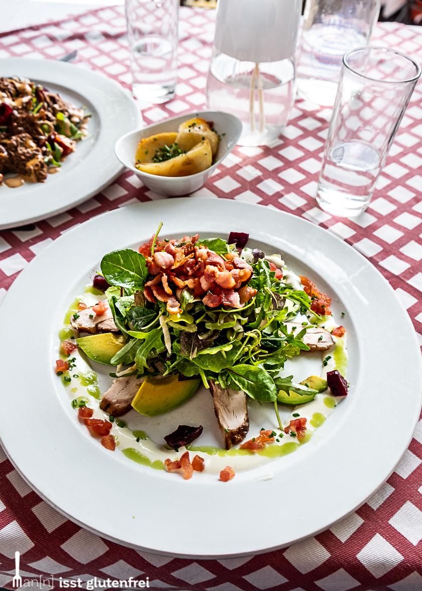 Franschhoek Restaurant Salat glutenfrei