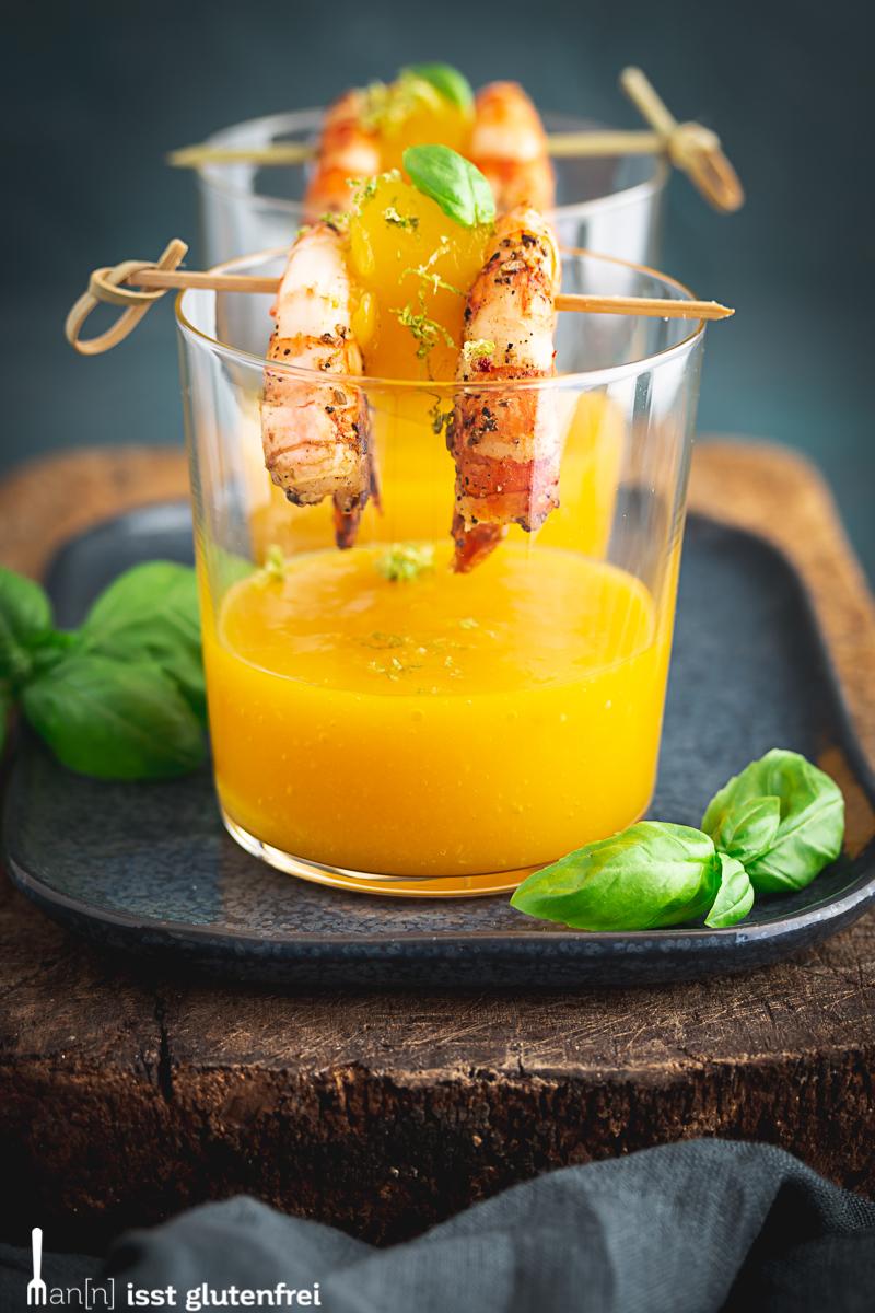 Mango im Glas