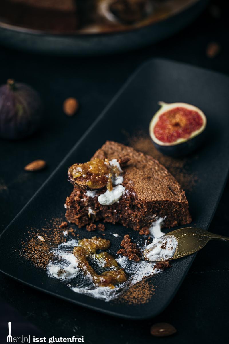 Schokoladenkuchen - glutenfrei und laktosefrei