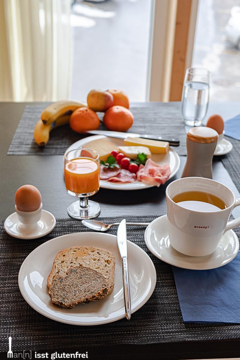 Frühstück glutenfrei Seefeld