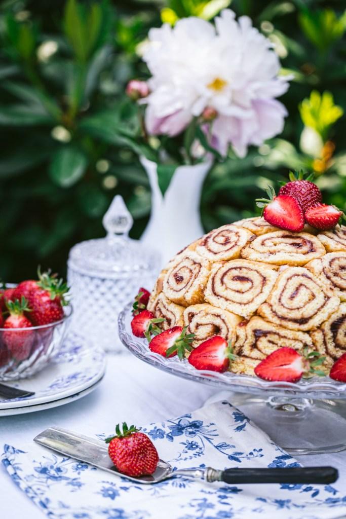 Erdbeer Charlotte - glutenfrei