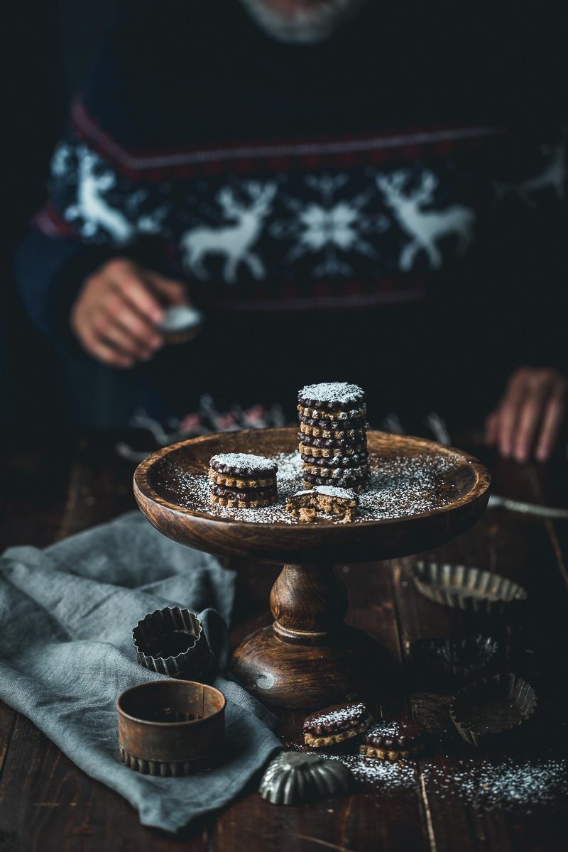 Schoko Karamell Plätzchen - glutenfrei und laktosefrei