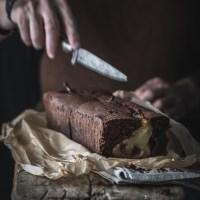 Schoko Birnen Kuchen - glutenfrei und laktosefrei