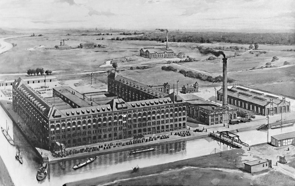 """<small>Stadtführung: </small><br><b>""""Siemensstadt Industriekultur""""</b><br> Wie <i>und warum</i> hier alles begann. 1"""