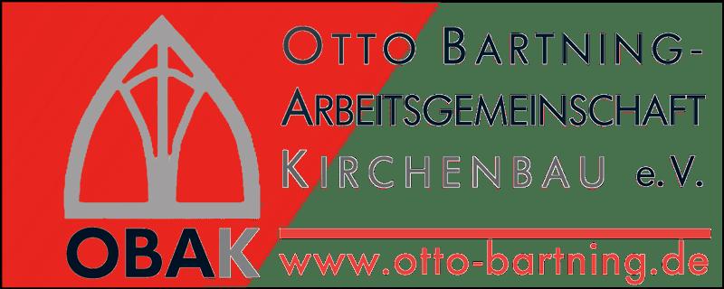 Das Logo der Otto-Bartning-Arbeitsgemeinschaft Kirchenbau e.V.