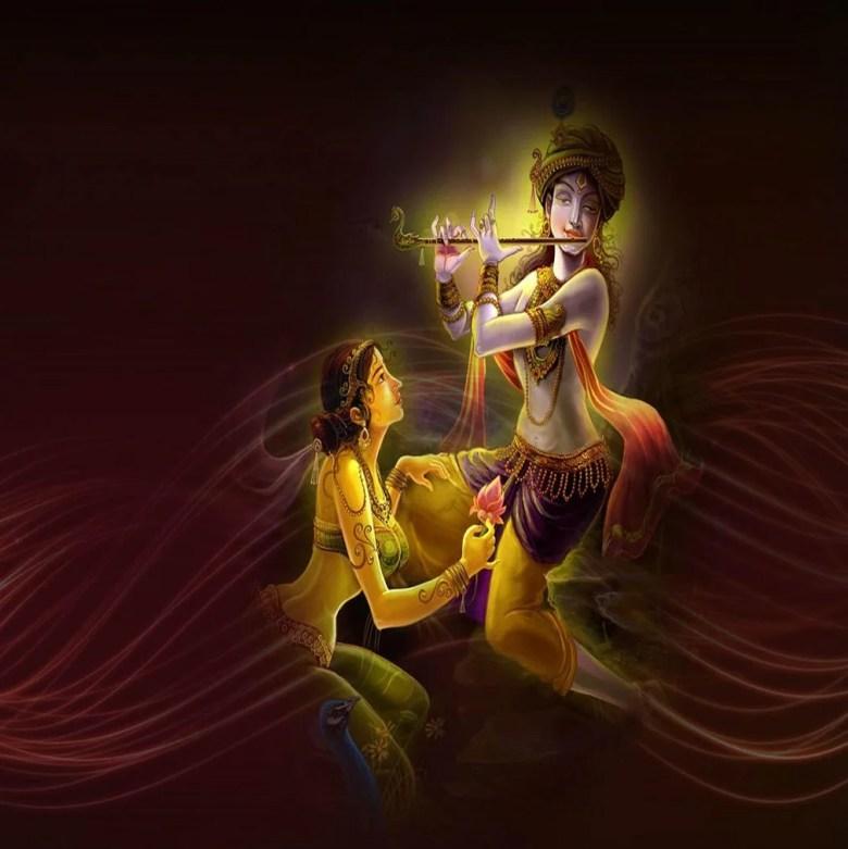 Radha Krishna poem