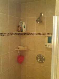 Shower we installed in Venice FL