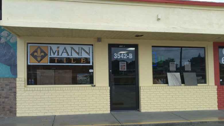 Mann Tile Storefront, Englewood FL
