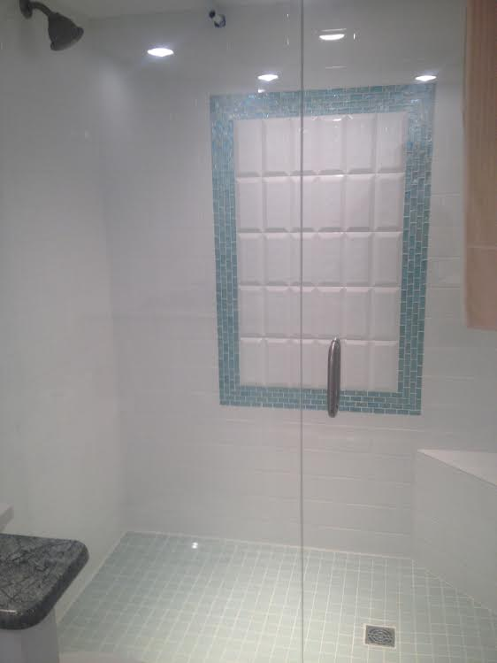 blue glass frame
