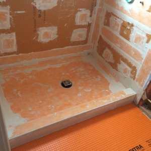 Kerdi Schluter Shower Systems Waterproofing Membrane