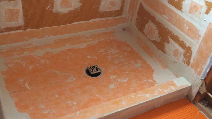 Kerdi Schluter Shower Systems