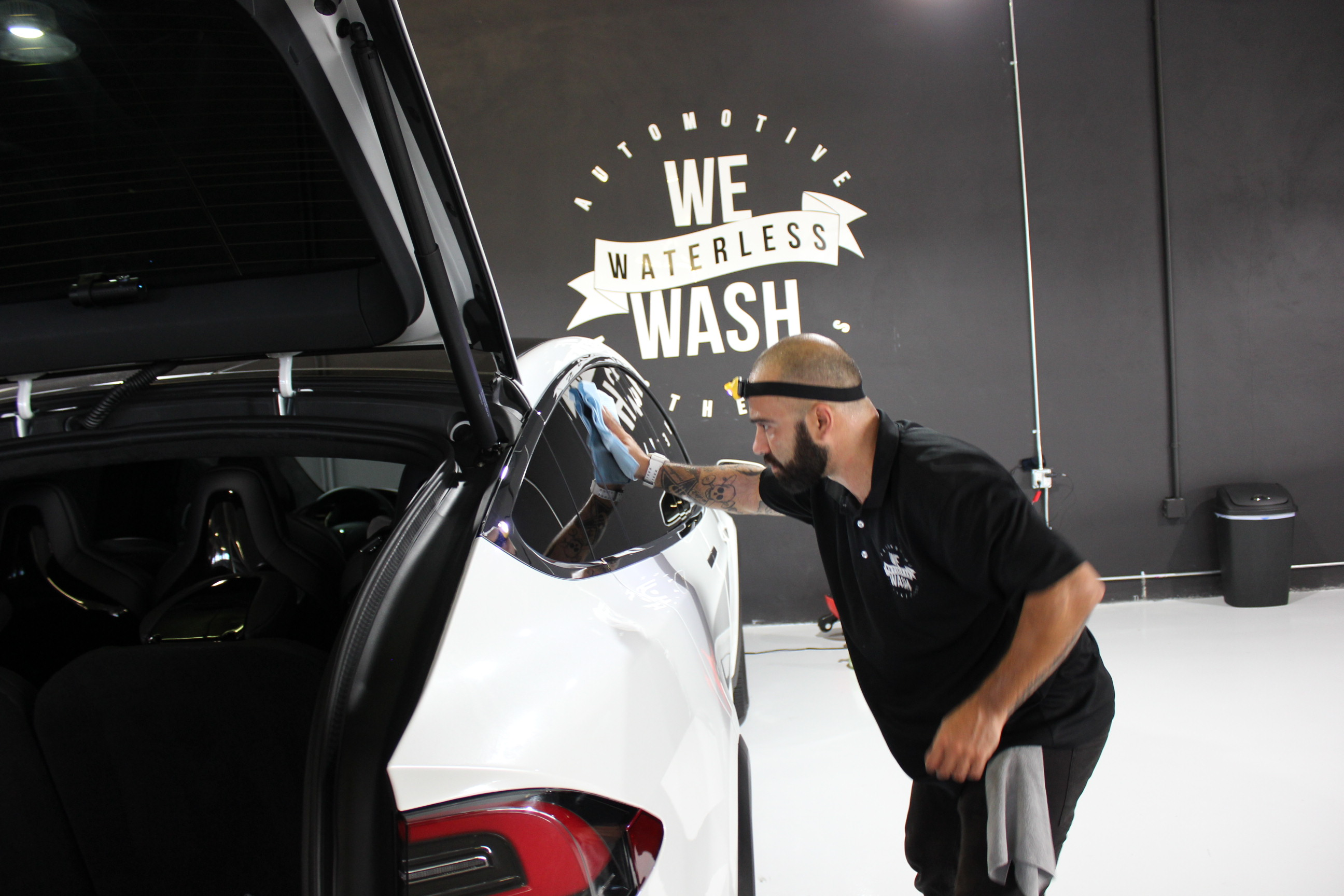 We Waterless Wash