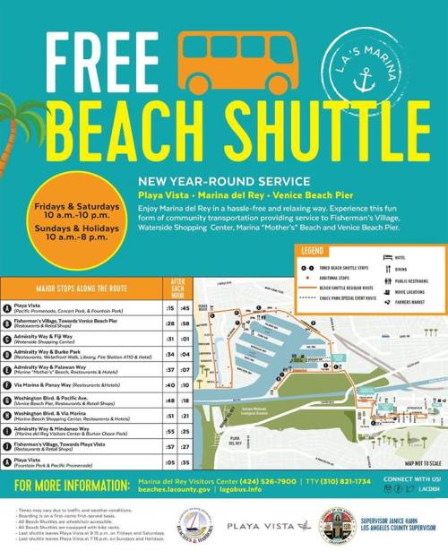 Beach Shuttle Route