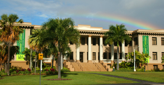Hawaii Hall Rainbow