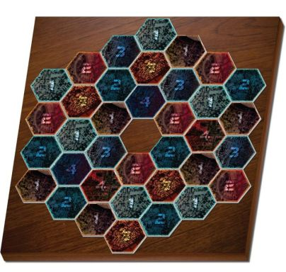 3D Board Game Visualization + Table shadow